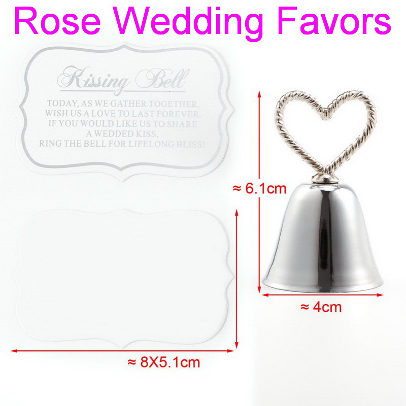 Image 3 - (50pcs/lot)FREE SHIPPING Christmas Party Favor Kissing Bell Place