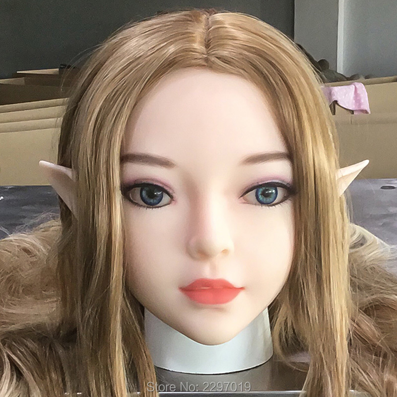 Sex Dolls Head Height For 135cm~170cm Real Silicone Love Doll Heads With Oral New Sex Toys For Men Real Doll Heads