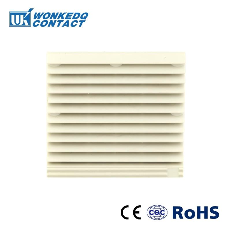FK-3321-300 Filter Panel Cabinet Ventilation Filter Set Shutters Cover Fan Grille Louvers Blower Exhaust Fan Filter Without Fan