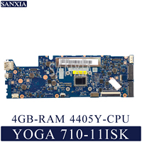 KEFU NM A771 Laptop motherboard for Lenovo YOGA 710 11ISK original mainboard 4GB RAM 4405Y CPU