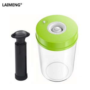 Image 1 - LAIMENG High Quality Plastic Vacuum Sealer Canister Large Capacity 2200ml Vacuum Container For Marinating S170