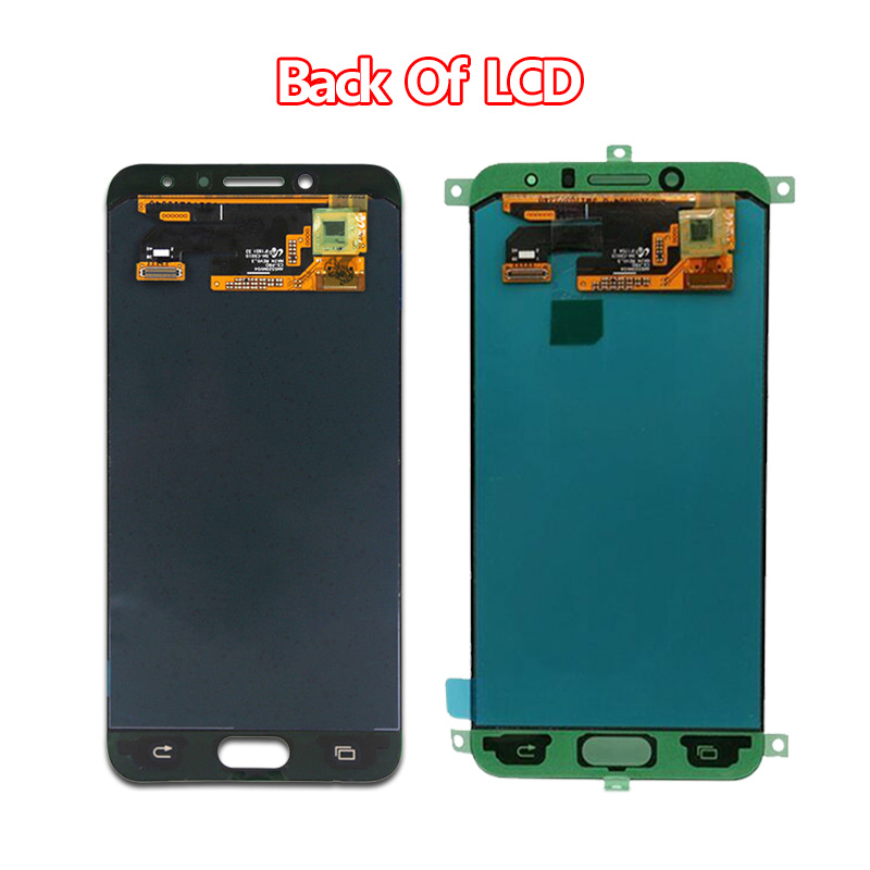 5.2''Amoled Display Replacement for SAMSUNG Galaxy C5 pro SM c5010 c5018 LCD +Touch Digitizer Sensor Glass Assembly Repair Parts - 4