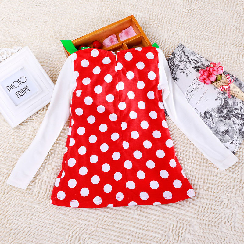Hcc84f6ffa0504bb7bfb6c9584248a64cY 2-6T Santa Claus Christmas Dress Kids Party New Year Costume Winter Snowman Baby Girl Clothes Christmas Tree Children Clothing