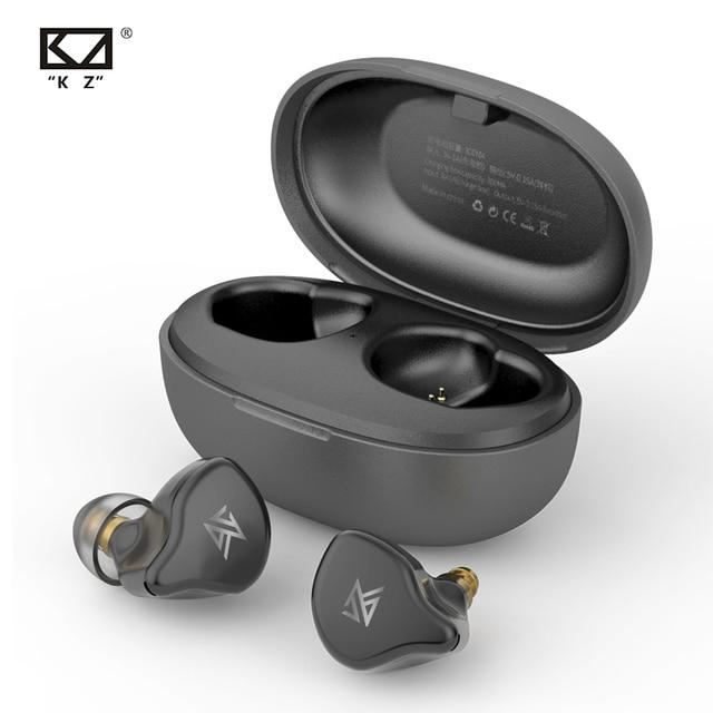Беспроводные наушники KZ TWS S1D/S1 с сенсорным управлением, Bluetooth 5,0, динамические/гибридные наушники вкладыши, гарнитура с шумоподавлением, спортивные наушники