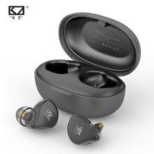 Kz tws s1d/s1ワイヤレスヘッドセット,Bluetooth 5.0,ダイナミック/ハイブリッドイヤホン,ノイズキャンセリング,スポーツヘッドセット
