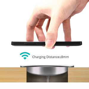 Image 5 - Universal Embedded Wireless Charger For IPhone 11 X 8 Samsung S10 Huawei Furniture Office Desktop Hidden Quick Phone Charger Pad