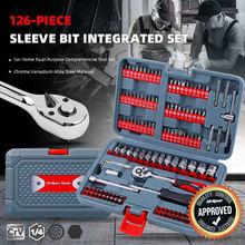 Набор инструментов для ремонта автомобиля 126/1/4 мм 635 шт
