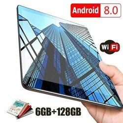 2020 nueva tableta WiFi android 10 pulgadas diez núcleos Android 8,0 Buletooth 4G llamada de red teléfono tableta regalos (RAM 6G + ROM 16G/64G/128G)