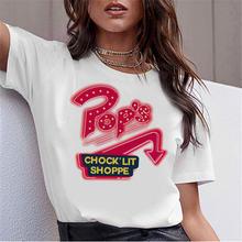 Для женщин крутые футболки; Сезон лето ривердейл размера плюс