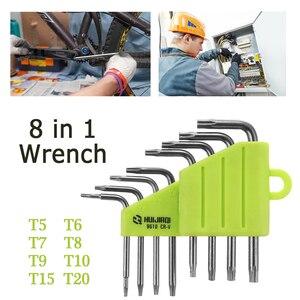 1.5-10mm sześciokątny klucz imbusowy zestaw narzędzi imbus matowy chrom Ball End Spanner zestaw śrubokrętów zestaw narzędzi 8/9 sztuk