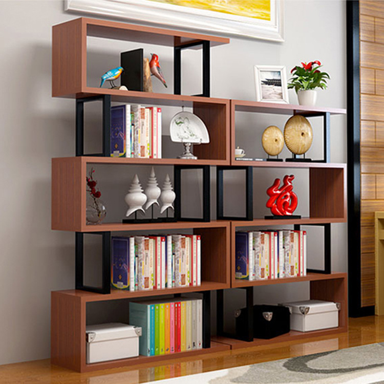 Manufacturers Direct Selling Bookshelf Storage Shelf Combined Bookcase Living Room Partition Showing Stand Storage Rack Living R