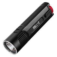 As vendas superiores nitecore ec4s 2150 lms luz branca fria handy portátil super brilhante xhp50 led emissor lanterna tocha caça ao ar livre