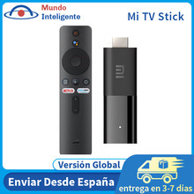 Xiaomi Mi TV Stick versión Global enchufe de la UE Android TV FHD HDR Quad Core 1GB 8GB ROM Bluetooth Wifi Netflix Google asistente