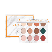 VERONNI Shimmer Eyeshadow Matte Eyeshadow Pallete 12 Color Pigmented Eye Shadow Palette Make up Palette maquillage 18 color glitter eyeshadow palette matte shimmer eyeshadow make up cosmetic eye shadow makeup pallete