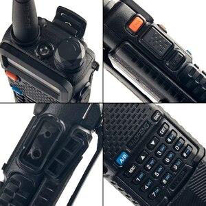 Image 4 - Baofeng UV 5R 3800mAh ווקי טוקי 5W Dual Band נייד רדיו UHF 400 520MHz VHF 136 174MHz UV 5R שתי דרך רדיו נייד