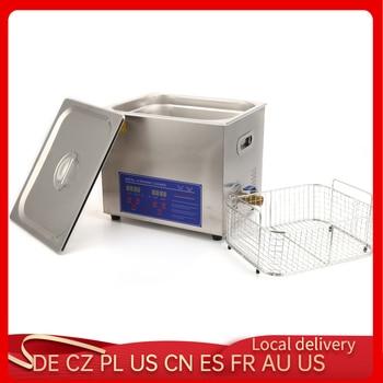 Limpiador ultrasónico Digital de acero inoxidable, Limpiador de baño ultrasónico de 10L,...