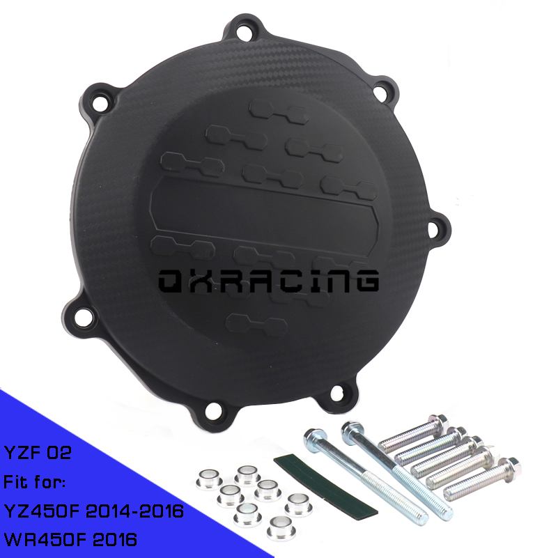 Motorcycle Clutch Cover Protection Cover Fit For YAMAHA YZ450F YZ 450F 2014 2015 2016 WR450F WR 450F 2016
