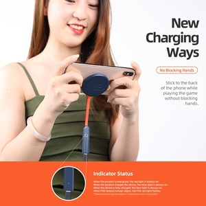 Image 3 - ROCK Double side Wireless Charger ดูดถ้วย Fast ชาร์จไฟแบบไร้สาย 15W Qi Charger สำหรับ iPhone XS 8 Huawei