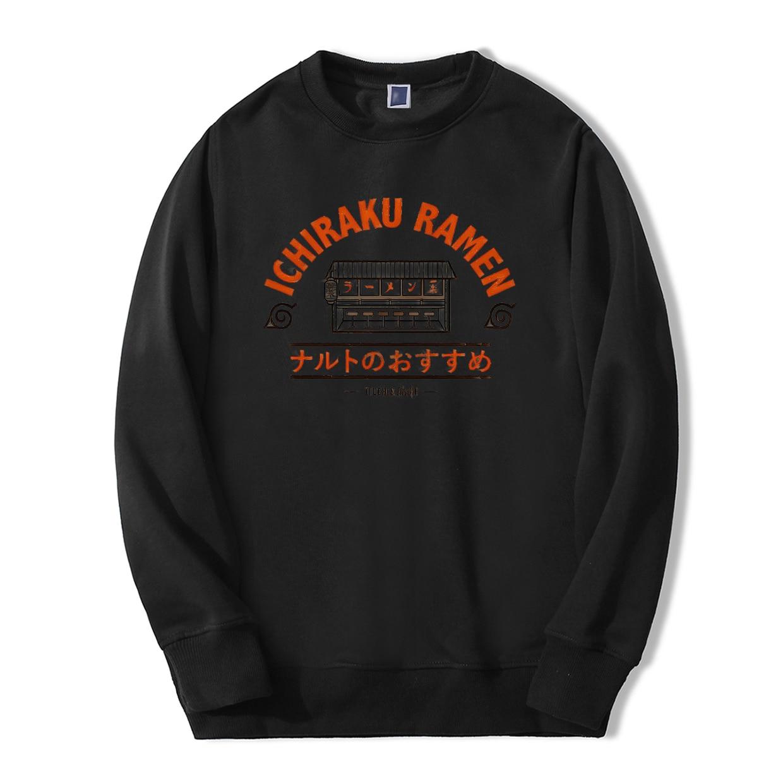 Sweatshirt Naruto Ichiraku Ramen Japan Anime 2019 Spring Winter Men Hoodie Streetwear Fleece Tracksuit Casual Fashion Sportswear