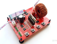 STM32 Single chip SPWM Inverter Power Supply Learning Board with Schematic and Source Code Tutorial Document V3 Version