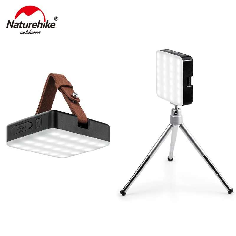 Naturehike Ultra Bright Camp Tent Lamp Portable Functional Lantern LED Rechargeable Outdoor Hand Lamp Super bright 7-180 hours