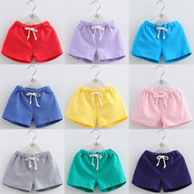 Kids Summer Panties Shorts Clothing Beach-Sweatpants Girls Boys Cotton for Brand Cute