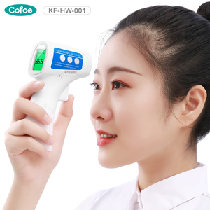 Image 2 - Cofoe Forehead Non Contact Infrared Baby Thermometer LCD Body Temperature Fever Digital IR Measurement Tool Gun for Baby Adult