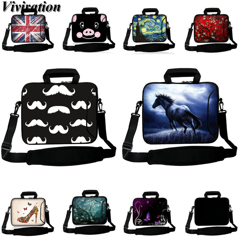 Colorful Tablet PC Case 10 10.1 9.7 13 12 15 14 17 17.3 11.6 Laptop Sleeve Carry Bag Neoprene Boys Girls Notebook Computer Pouch
