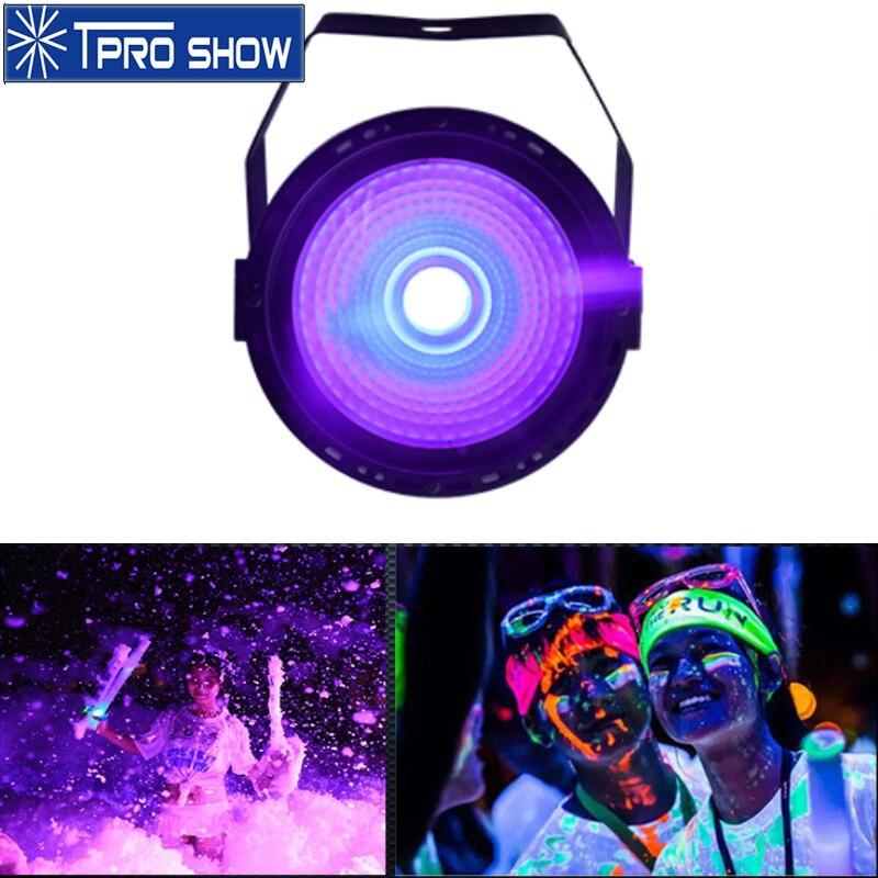 Mini LED Par Uv Light Party Dj Lighting Effect Disco Lights For Home 30W COB Black Light Dmx Manual Control Poack Size UV Lamp