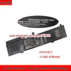 Genuino 11,55 V 4780mAh C31N1517 batería para ASUS TP301 TP301UA TP301UA6200 Q304UA TP301UJ TP301UA6500