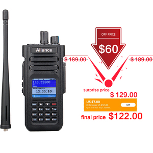 Image 2 - RETEVIS Ailunce HD1 DMR Radio Digital Walkie Talkie Ham Radio Amateur GPS DMR VHF UHF Dual Band DMR Two Way Radio Communicator