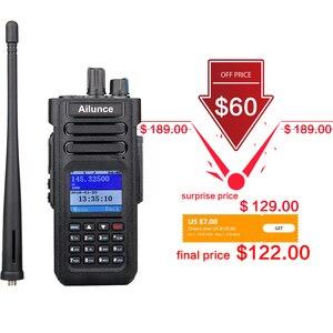 Image 2 - RETEVIS Ailunce HD1 DMR радио цифровая рация (gps) ветчина радио Amador 10 Вт УКВ двухдиапазонный IP67 Водонепроницаемый двухстороннее радио