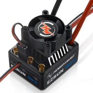 Image 2 - Hobbywing EZRUN MAX10 60A กันน้ำ ESC 6V/7.4V BEC 2 3S Lipo ความเร็วคอนโทรลเลอร์ Brushless ESC สำหรับ 1/10 RC รถ