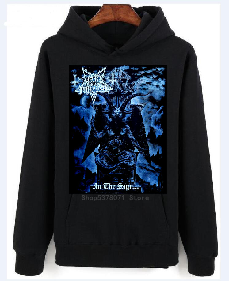 DARK FUNERAL IN THE SIGN Official Licensed Hoodies New M L XL Cotton Hoodiess Fashion Free Shipping
