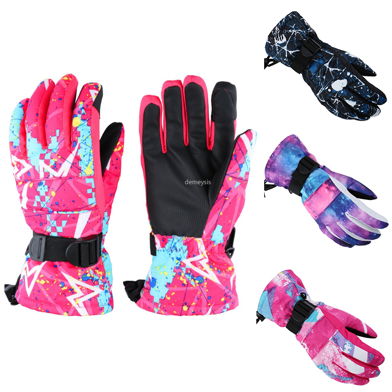 Ski Gloves Touch Screen Winter Sport Glove Waterproof For Skiing Skating Cycling
