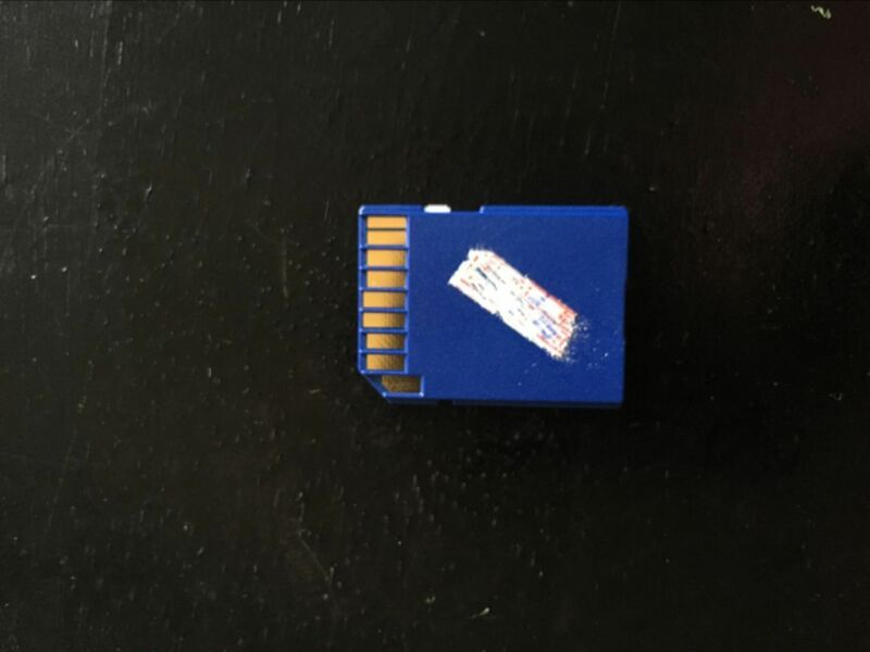 1pcs Printer/Scanner Unit Type Sd Card For Ricoh Pro8100/8110