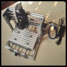 цена на Mini CNC 2417 PRO 500-2500mw laser CNC engraving machine Pcb Milling Machine Wood Carving machine