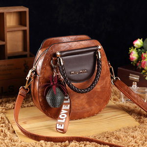 Image 2 - Small Summer Vintage Bags For Women 2020 Pu Leather Tote Handbag Woman Messenger Shoulder Hand Crossbody Luxury Designer AB02