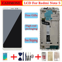 מקורי LCD עבור Xiaomi Redmi הערה 5 LCD תצוגת מסך עם מסגרת החלפת מסך עבור Redmi הערה 5 LCD תצוגה מסך