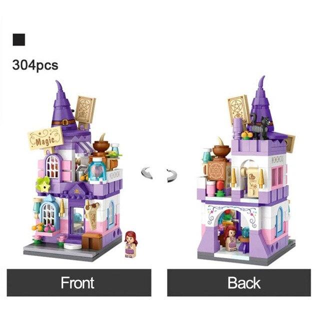 LOZ Builidng Blocks City Shop Toys Street Store Mini Bricks DIY Figure 5