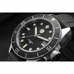 Image 4 - サンマーティン男性機械式腕時計サファイアガラス SEIKONH35 運動ステンレス鋼ダイビング腕時計