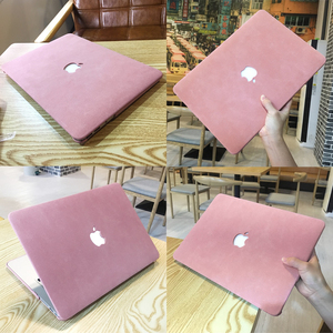 Leather Type Laptop Case For MacBook Air Pro Retina 11 12 13 15 mac book Pro 13.3 15.4 Touch Bar 2019 A2159 A1932 Keyboard Cover