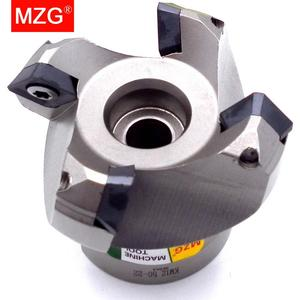 Image 1 - MZG KM12R50 22 4T Four SEKT1204 Carbide Insert Clamped Fast Feeding Alloy End Mill Milling Machining Slab Face Milling Cutter