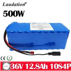 Laudation 36В батарея 12.8ah 10S4P Электрический велосипед глубокий цикл батарея для 500 Вт Мотор Ebike с 15A литиевая батарея BMS pack