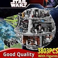LELE 35000 Star plan Wars series Death Star Building Blocks boys Toys Compatible legoinglys 10188 bricks birthday christmas gift