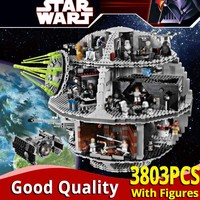 LELE 35000 Star plan Wars series Death Star Building Blocks boys Toys Compatible legoinglys 10188 bricks birthday christmas gift