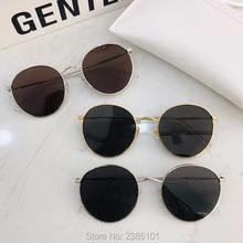 2020 Classic Small Frame Round Sunglasses Women/Men Gentle Brand Designer WATERD