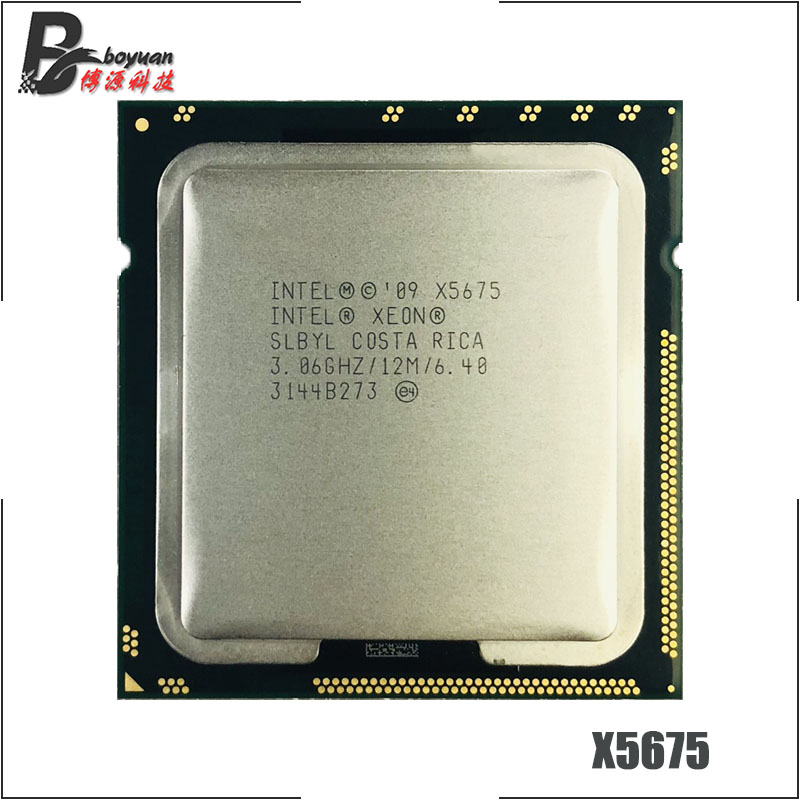 12M Cache, 3.60 GHz, 6.40 GT//s QPI New Bulk Xeon Processor X5687 Intel SLBVY