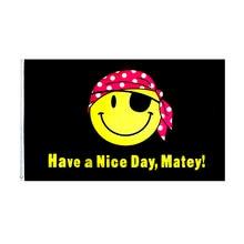 Желтое улыбающееся лицо приятного дня флаг матери 60x9 0 см/90x15
