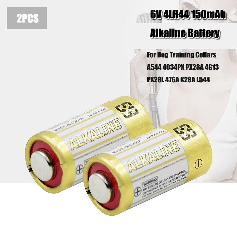 2 pçs 4lr44 baterias l1325 6v pilhas de bateria alcalina seca primária carro remoto relógio brinquedo calculadora novo